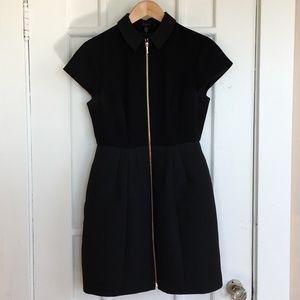 Ted Baker London Dresses - Ted Baker black cocktail dress with zipper detail